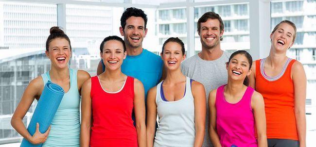 Lach-Yoga - Was ist das und was sind ihre Vorteile? Foto
