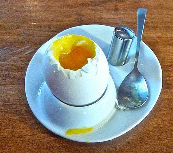 Ei für Banana Haarmaske Rezept