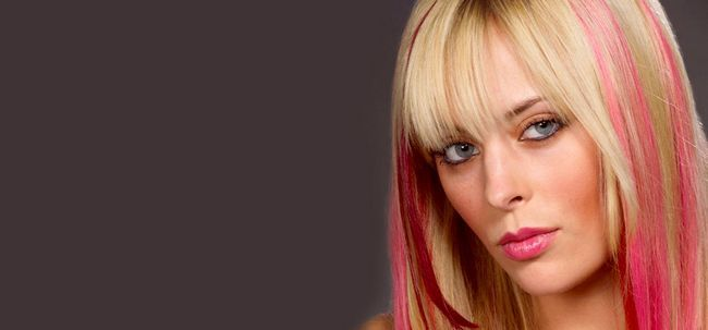 Make-up-Tipps für die 8 Arten von gefärbtes Haar Foto