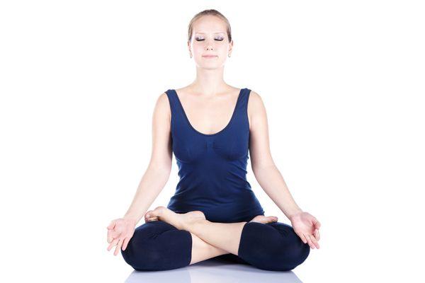 padmasana mit Mantras