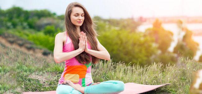 Modern Day Yoga - Machen Sie es einen Teil Ihres Lebens Foto