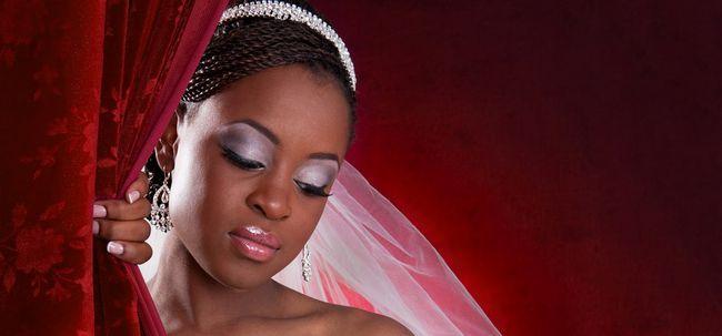 Nigerian Braut Make-up - eine einfache Stepwise Tutorial Foto