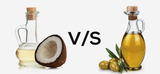 Olivenöl Vs Coconut Oil - Was ist besser? Foto