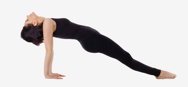 Purvottanasana / nach oben Plank Pose - How To Do und was sind die Vorteile? Foto