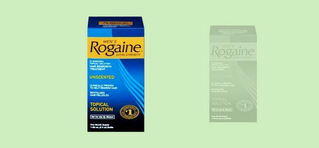Rogaine für Haarausfall Foto