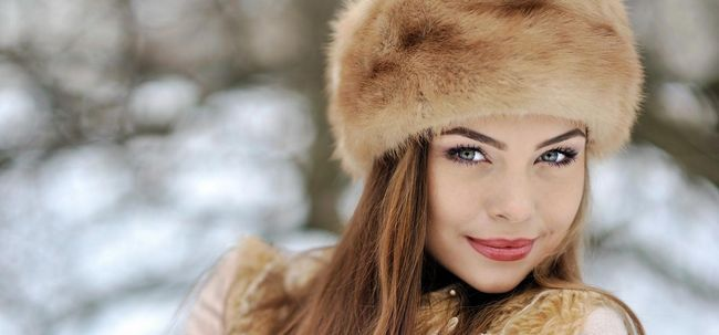 Russische Make-up, Beauty und Fitness Secrets Revealed Foto