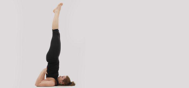 Salamba Sarvangasana / Schulterstand - How To Do und was sind die Vorteile? Foto