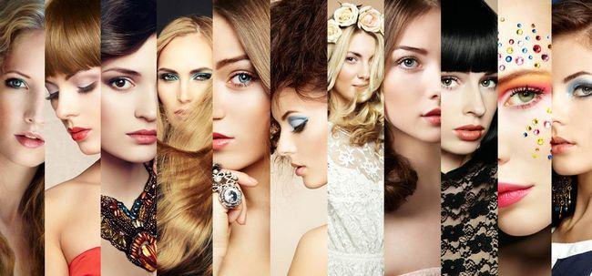 Sexy Parting Stile für verschiedene Gesichtsformen, die Sie können abheben Foto