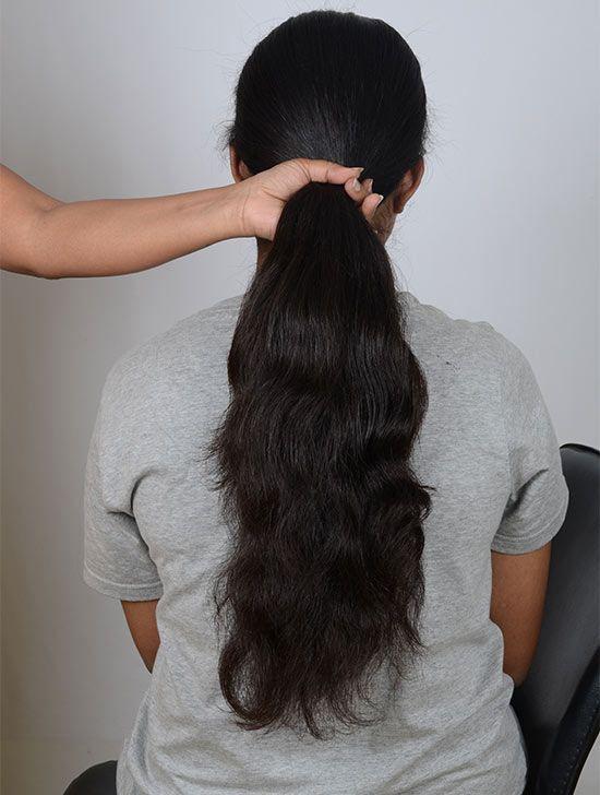 Bürsten Sie alle Ihre Haare