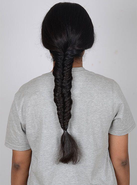 fixieren die Frisur