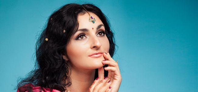 South Indian Braut Make-up - Schritt für Schritt Anleitung mit Bildern Foto