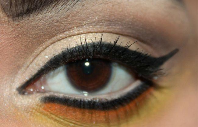 Umkehren Smokey Eye Make-up Look Tutorial (6)