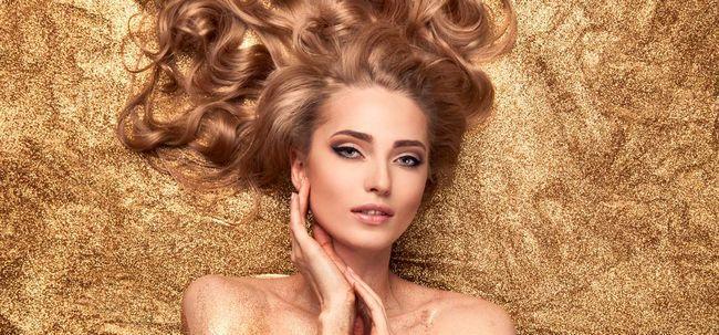 Das Make-up Trend aufholt mit Stroboskopeffekt und es ist Geradezu ehrfürchtig Foto