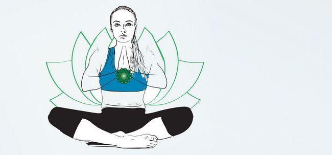 Diese Meditation ist der perfekte Weg, um Ihr Herz-Chakra zu öffnen Foto