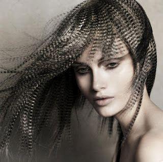 Tipps für Feder-Haar-Verlängerungen !!! Foto