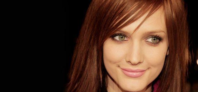 Tipps zur Auswahl Haarfarbe für milchhäutige Beauties Foto