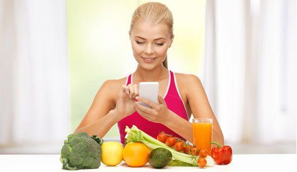Top 10 Apps sollten Sie heraus für gesunde Ernährung prüfen Foto