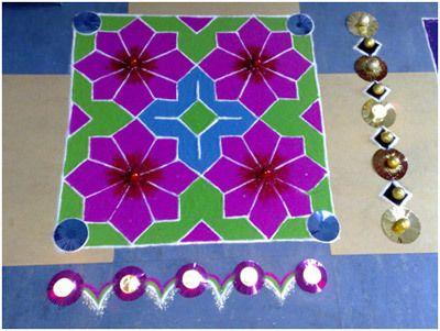 Diwali rangoli Bilder