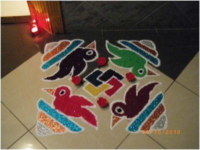 Diwali Dekorationsideen