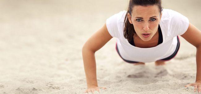 Top 10 Übungen, die Sie an Gewicht zunehmen Hilfe Foto