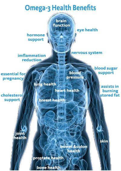 gesundheitlichen Vorteile von Omega-3