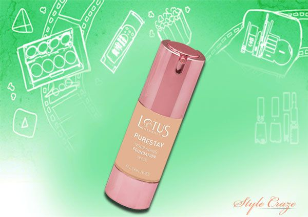 Lotus Herbals Purestay Foundation