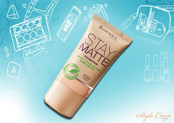 Rimmel London Aufenthalt Matte Foundation