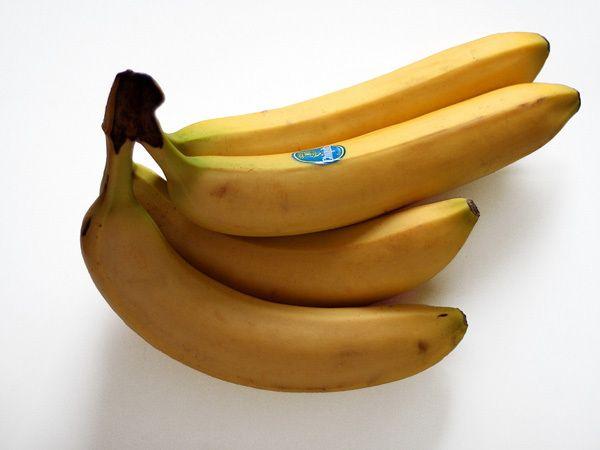 Banane für das Haar