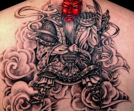 Top 10 Samurai Tattoo Designs Foto
