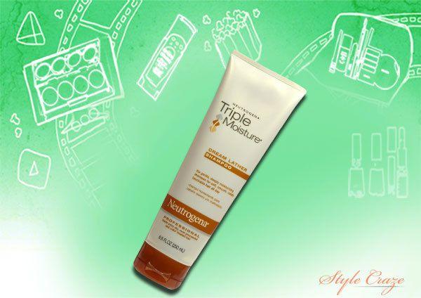 neutrogena triple schäumen Feuchtigkeitscreme Shampoo