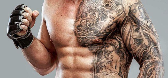 Top 10 Magen-Tattoo-Designs Foto