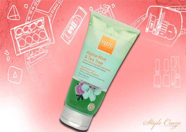VLCC Alpine Mint und Teebaumöl Face Wash