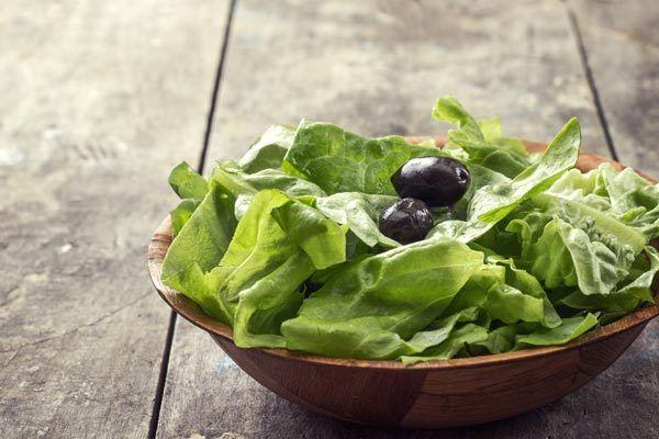 Salat für Gewichtsverlust