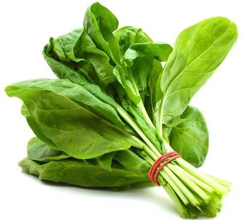 Spinat für Gewichtsverlust