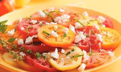 Garlicky Tomatensalat