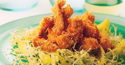 Warm Sesame Chicken Salat
