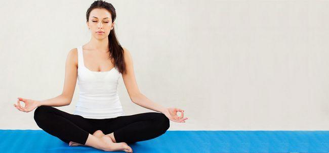 Top 10 Yoga-Übungen Schlaflosigkeit zu heilen Foto