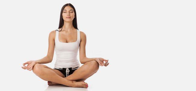 Top 10 Yoga-Übungen Ihr Gedächtnis zu verbessern Foto