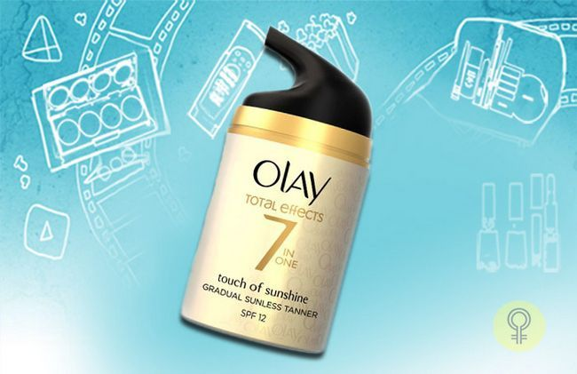 Olay Total Effects + Touch von Sun