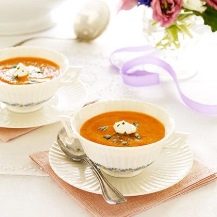 Gemüsesuppe mit niedrigem Fettgehalt