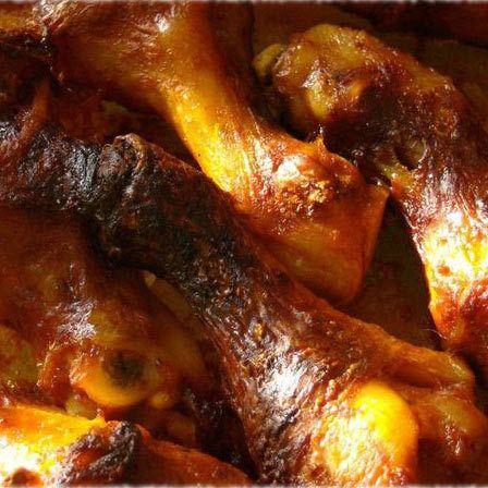 gebratenes Huhn Beine Rezept
