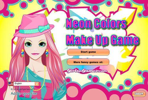 Neon-Farben bilden