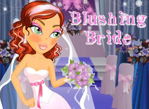 Braut errötend machen über
