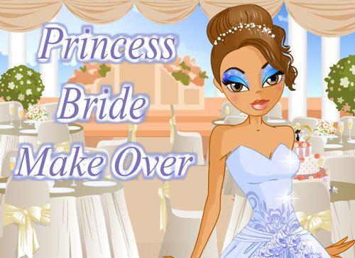 Prinzessin Braut zu machen über