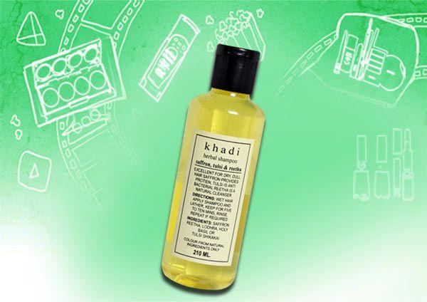 Khadi Kräuter Safran Tulsi & Reetha Shampoo