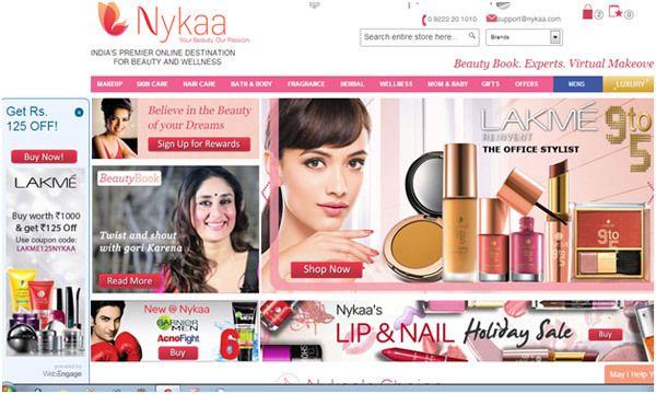 Top 5 Online-Shops zu kaufen Beauty-Produkte in Indien Foto