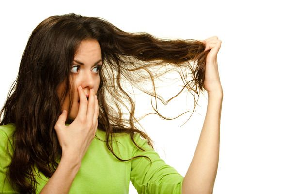 Trocken und stumpf Haar