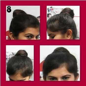 Top-Knoten-Tutorial mit detaillierten Schritte und Bilder Foto