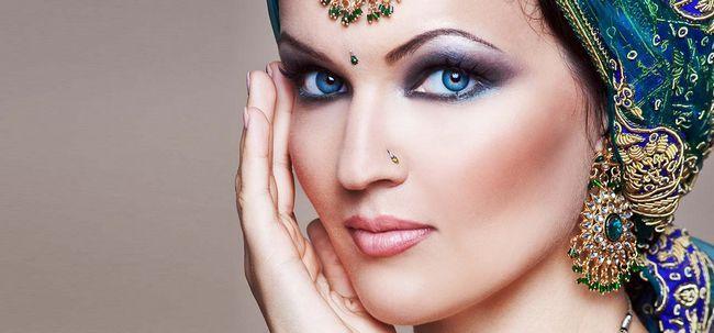 Nützliche Tipps für Braut indische Hauttöne Foto