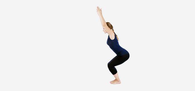 Utkatasana / Stuhl-Haltung - How To Do und was sind die Vorteile? Foto